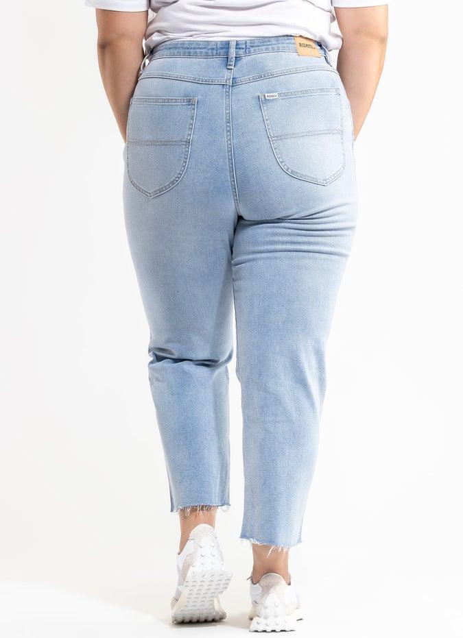 Riders Hi Straight Jeans - Plus & Curve