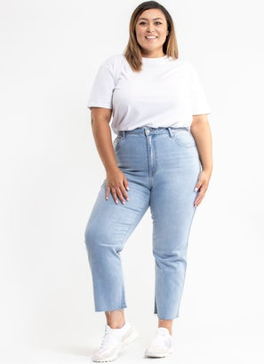 Riders Hi Straight Jeans - Plus & Curve