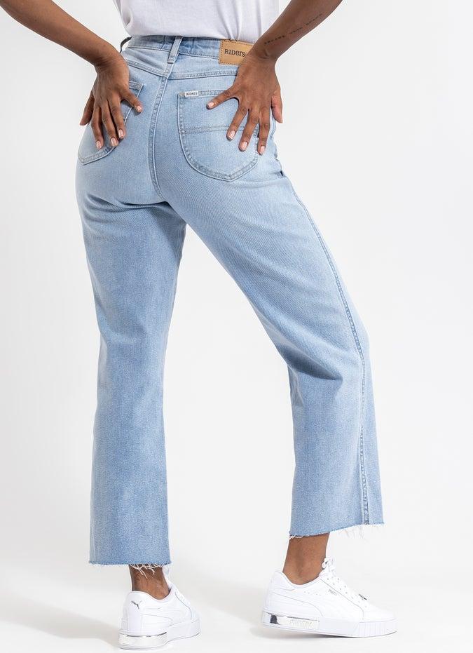 Riders Hi Straight Jeans - Womens