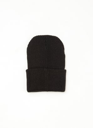 Royal Ribbed Knit Beanie