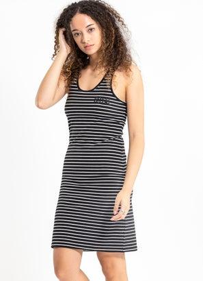 Royal Striped Dress