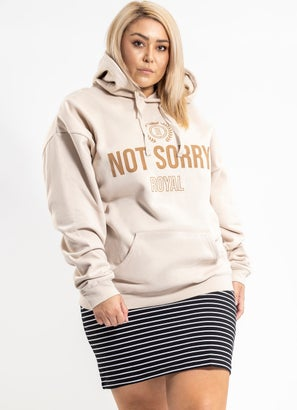 Royal Tan Hoodie - Plus & Curve