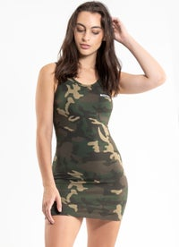 Royàl Camo Dress - Womens