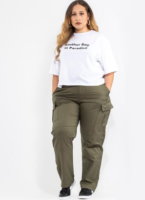 Royàl Cargo Pants - Plus & Curve