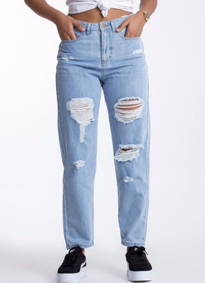 Royàl Mom Ripped Jeans