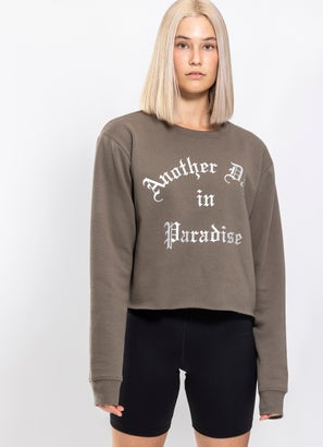 Royàl Paradise Cropped Crew - Womens
