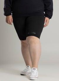Royàl Ribbed Bike Shorts - Curve