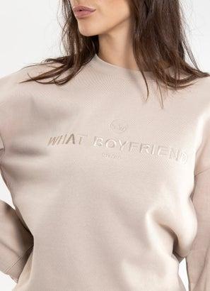 Royàl What Boyfriend Fleece Crew - Womens