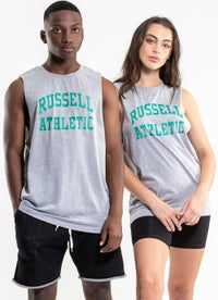 Russell Athletic Arch Logo Muscle Tee - Unisex