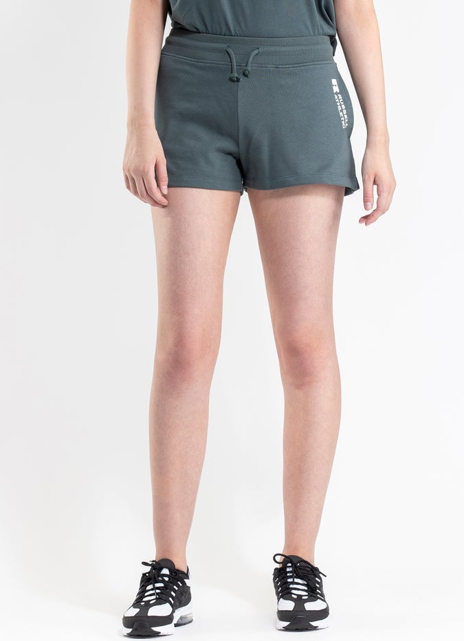 Russell Athletic Bar Logo Track Shorts - Womens
