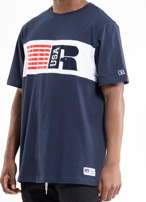 Russell Athletic Panel Tee