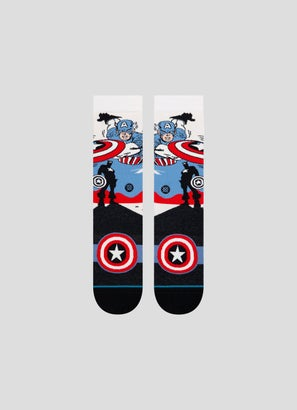 Stance Captain America Marquee Socks - 1 Pack