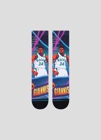 Stance NBA Giannis Fast Break Socks - 1 Pack