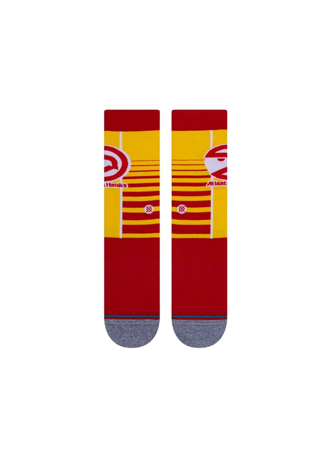 Stance NBA Hawks Gradient Socks - 1 Pack