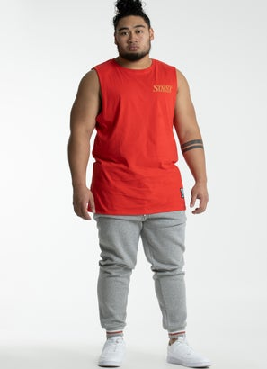 STMNT Flamed Singlet - Big & Tall