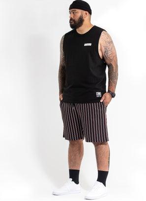 STMNT Striped Shorts - Big & Tall