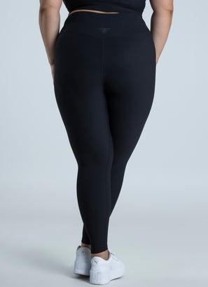 Stryde Cross Ribbed Leggings - Plus Size
