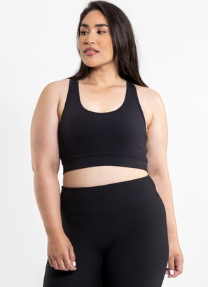 Stryde Cut Out Sports Bra - Plus Size