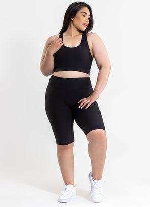Stryde Cut Out Sports Bra - Plus Size