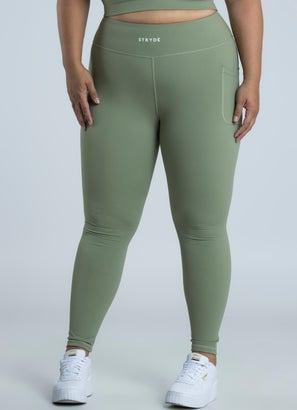 Stryde Mint Leggings - Plus & Curve