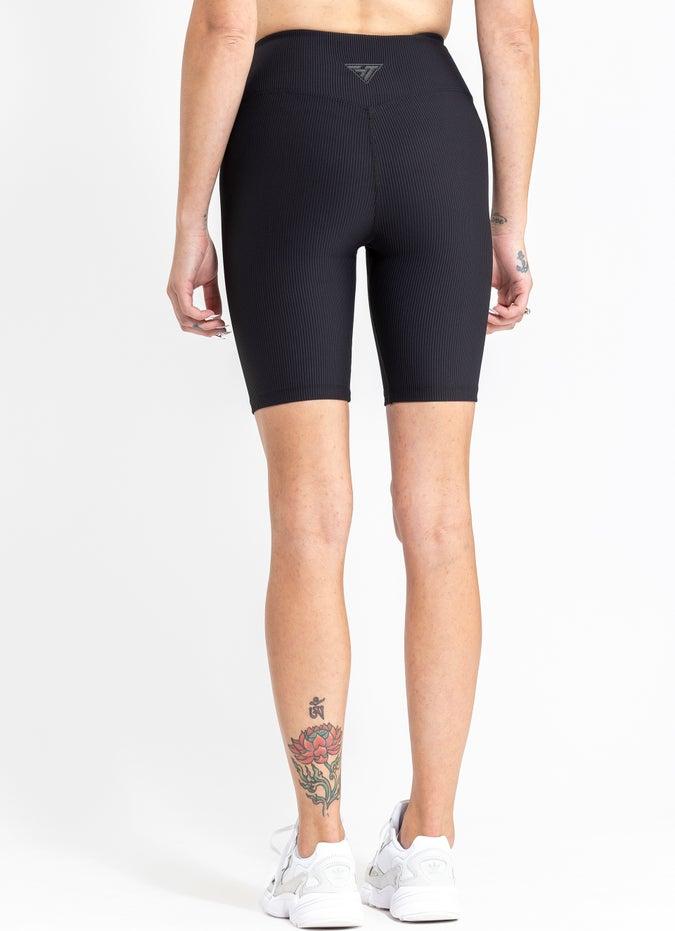 Stryde Ribbed Biker Shorts