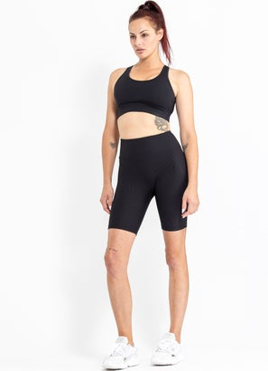 Stryde Ribbed Biker Shorts