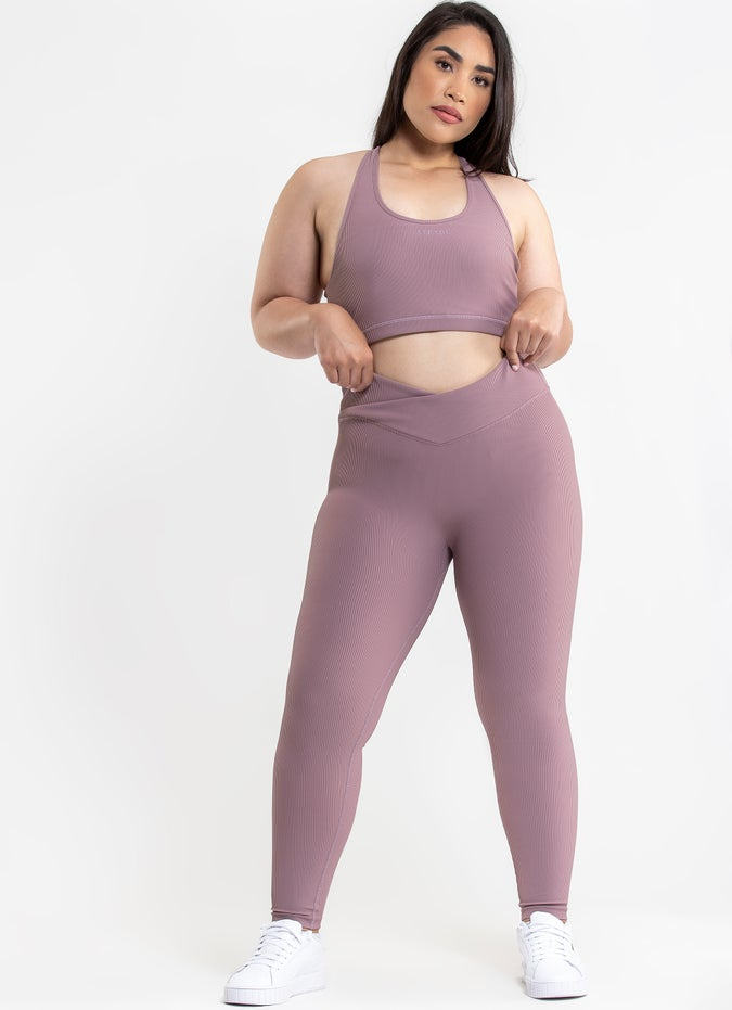 Stryde Ribbed Leggings - Plus Size