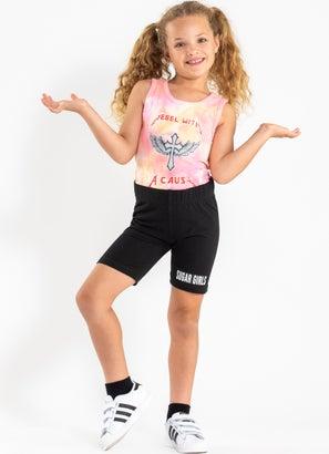Sugar Girls Biker Short - Kids