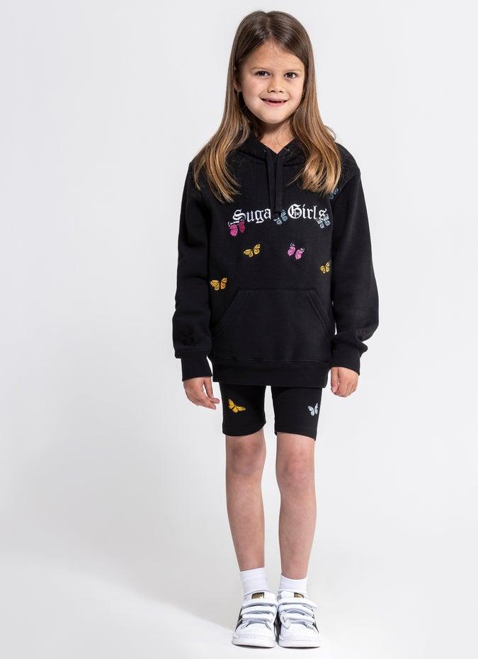 Sugar Girls Butterfly Bike Shorts - Kids