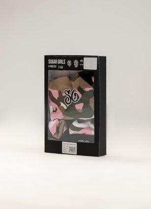 Sugar Girls Camo 3pc Box Set - Infant
