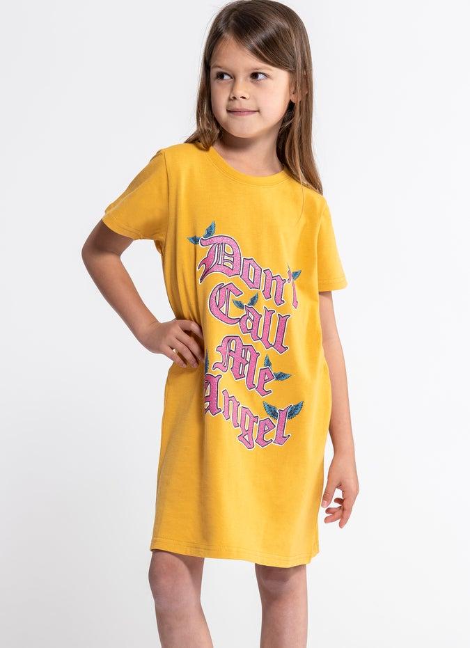 Sugar Girls Dont Call Me Angel Dress - Kids