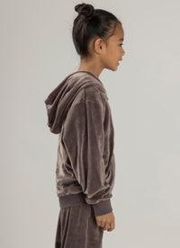 Sugar Girls Mini Lux Velour Sweatshirt