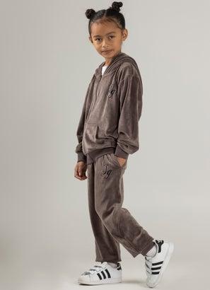 Sugar Girls Mini Lux Velour Trackpants