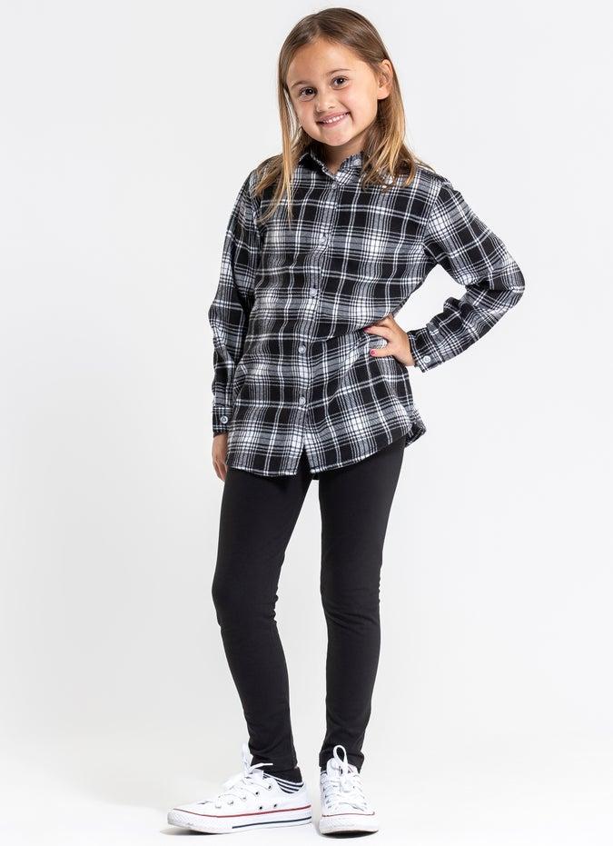 "Sugar Girls 'My First"" Checkered Shirt - Kids"