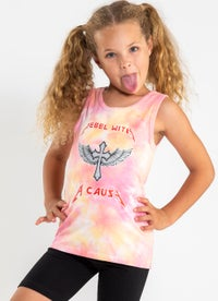 Sugar Girls Tie Dye Singlet - Kids