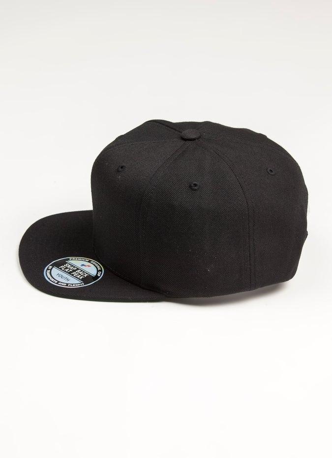 Teamsports Flat Peak Snapback Cap - Youth