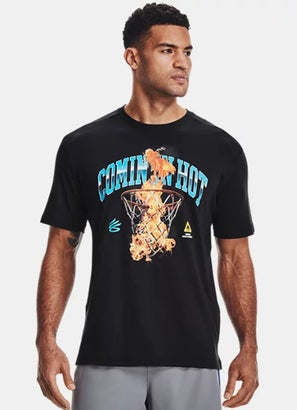 Under Armour Curry Coming In Hot Tee