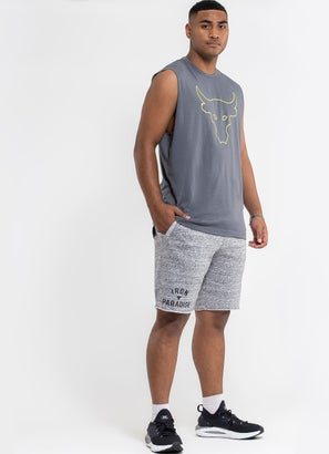 Under Armour Project Rock Terry Iron Short