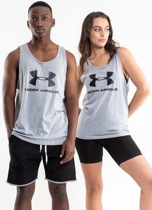 Under Armour Sportstyle Logo Tank - Unisex