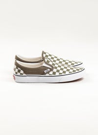Vans Checkerboard Classic Slip-On Shoes - Unisex