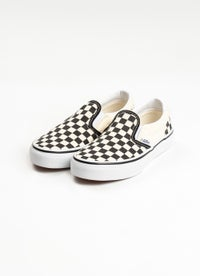 Vans Checkerboard Slip-On Shoe - Kids