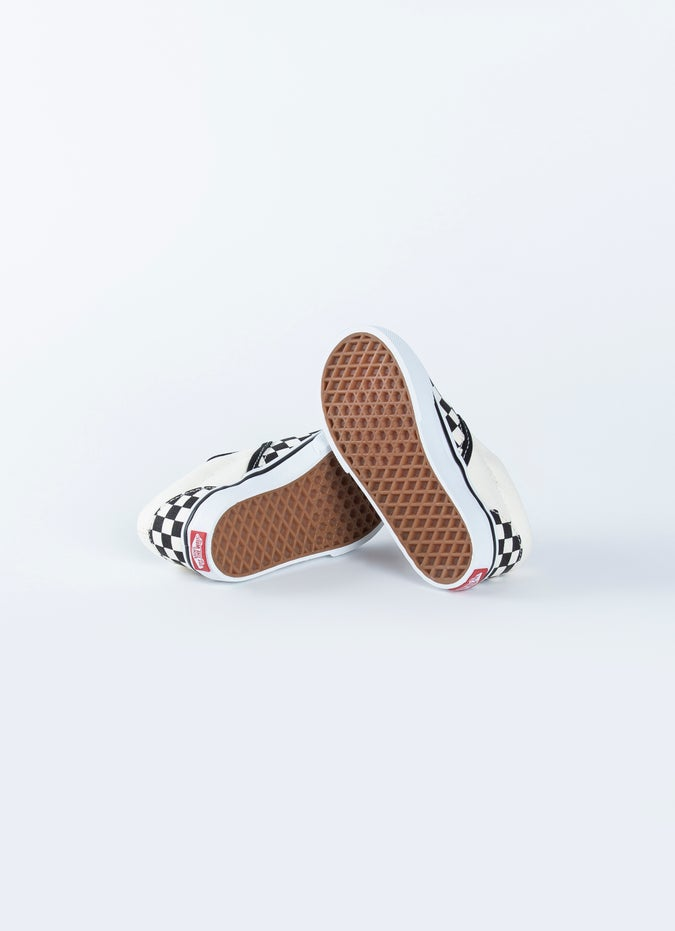 Vans Checkerboard Slip-On Shoes - Toddlers