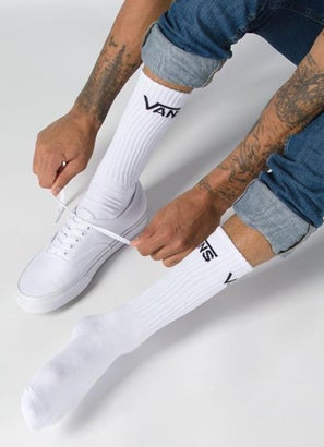 Vans Classic Crew 6.5-9 3Pk Sock