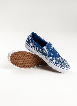 Vans Classic Slip-On Bandana Shoe