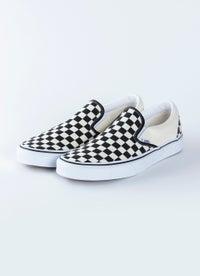 Vans Classic Slip-Ons Checkerboard Shoe