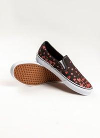 Vans Classic Slip-Ons Hearts Shoe - Womens