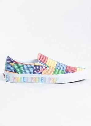 Vans Classic Slip-Ons Pride Shoe - Womens