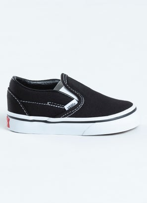 Vans Classic Slip-Ons Shoe - Toddler
