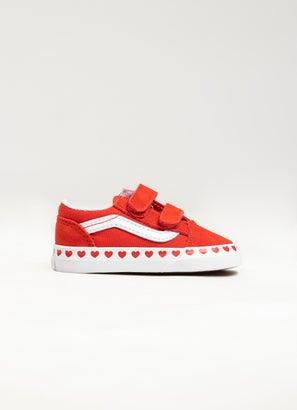 Vans Old Skool Heart Foxing Shoe - Infant