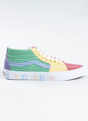 Vans Sk8-Mid Pride Shoe - Womens